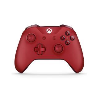 Manette Xbox One Microsoft sans fil Rouge