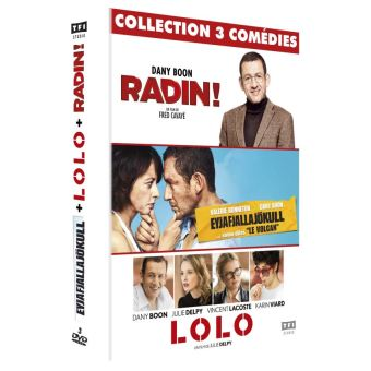 Coffret Dany Boon DVD