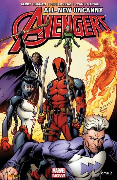 All-New Uncanny Avengers (2015 II)T02 - L'homme tombé du ciel - 9782809472660 - 9,99 €