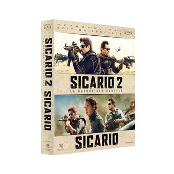 SicarioCoffret Sicario et Sicario 2 La Guerre des cartels Blu-ray