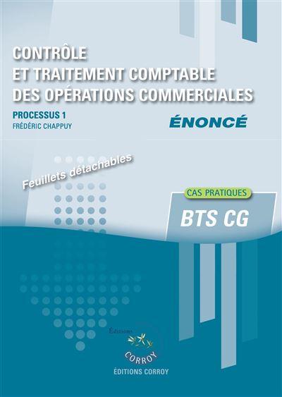 Controle et traitement des operations commerciales - enonce
