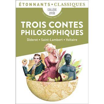 Couverture de Trois contes philosophiques