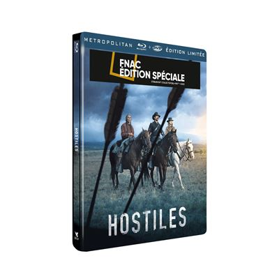 Hostiles  Hostiles-Steelbook-Edition-Fnac-Blu-ray