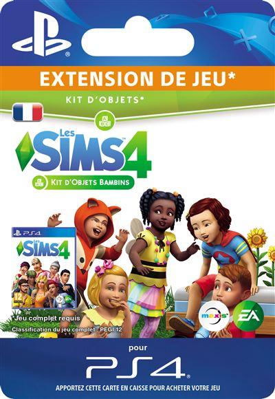 Code de téléchargement Les Sims 4 Kit d'objets Bambins PS4
