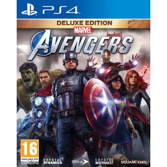MARVEL'S AVENGERS DELUXE EDITION FR/NL PS4