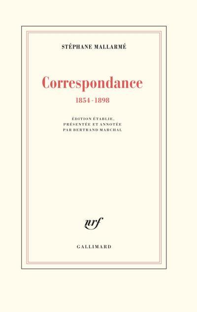 Correspondance (1854-1898) - 9782072826443 - 45,99 €
