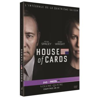 House of cardsHOUSE OF CARDS S4-FR-4DVD
