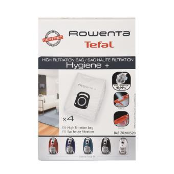 joli design code promo handicaps structurels Pack de 4 sacs Rowenta ZR200520 Hygiène + pour aspirateur Silence Force