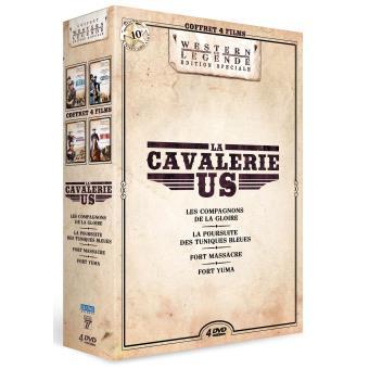 Coffret La Cavalerie US 4 films DVD