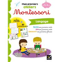 Mes premiers ateliers Montessori, Langage