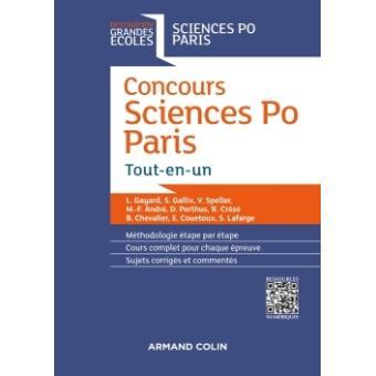 Concours Sciences Po Paris - Tout-en-un