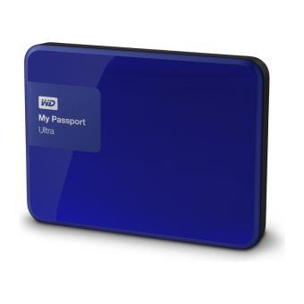 disque dur portable western digital my passport ultra 2 to bleu disque dur externe. Black Bedroom Furniture Sets. Home Design Ideas