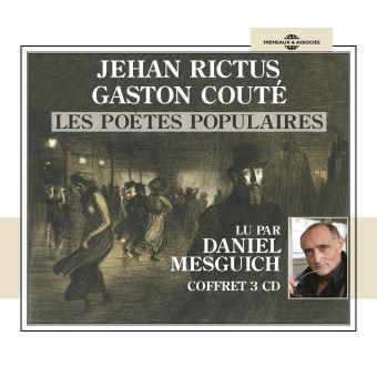 Jehan rictus gaston coute les poetes populaires