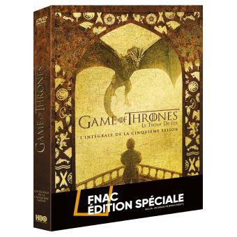 Le trône de ferGame Of Thrones Saison 5 Edition Spéciale Fnac DVD