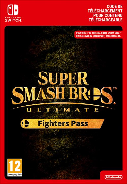Code de téléchargement Super Smash Bros. Ultimate Fighters Pass Nintendo Switch