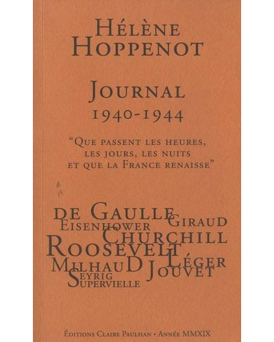 Journal 1940-1944