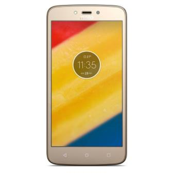 Smartphone Motorola Moto C Plus Double SIM 16 Go Or raffiné