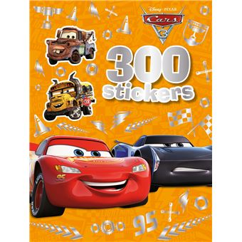 CarsCars 3 300 stickers