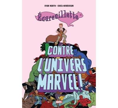 Écureuillette contre l'univers Marvel