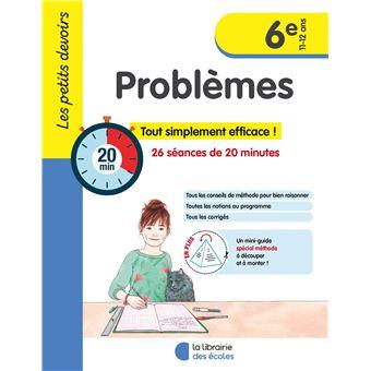 Les Petits Devoirs Problèmes 6ème