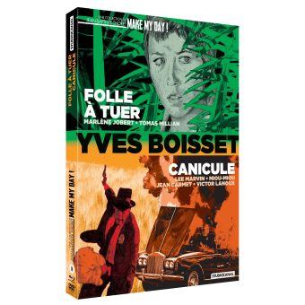 Coffret Folle à tuer et Canicule Combo Blu-ray DVD