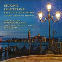 Symphonies concertantes pour deux flutes et orchestre