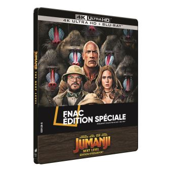 JumanjiJumanji : Next Level Steelbook Exclusivité Fnac Blu-ray 4K Ultra HD