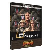 Jumanji : Next Level Steelbook Exclusivité Fnac Blu-ray 4K Ultra HD