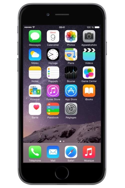 Apple iPhone 6 32 Go 4.7 Gris Sidéral