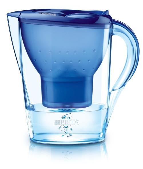 Carafe filtrante Brita Marella Bleu, 2,4L