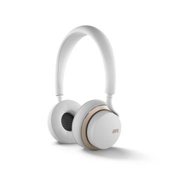 Casque Audio Jays U-Jays pour iOS Blanc/Or