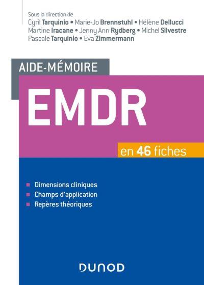 Aide-mémoire - EMDR - en 46 fiches - 9782100799817 - 30,99 €