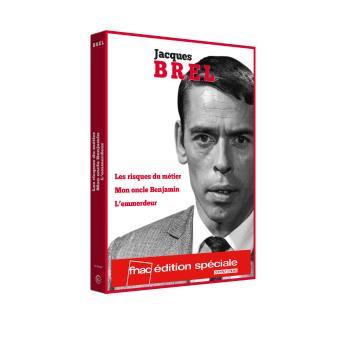 Jacques Brel Coffret 3 films DVD