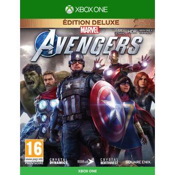 Marvel's Avengers Deluxe Edition FR/NL XONE