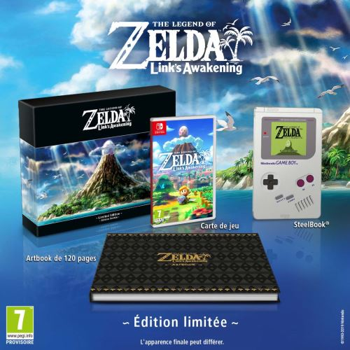 The Legend Of Zelda Link?s Awakening Edition Limitée Nintendo Switch
