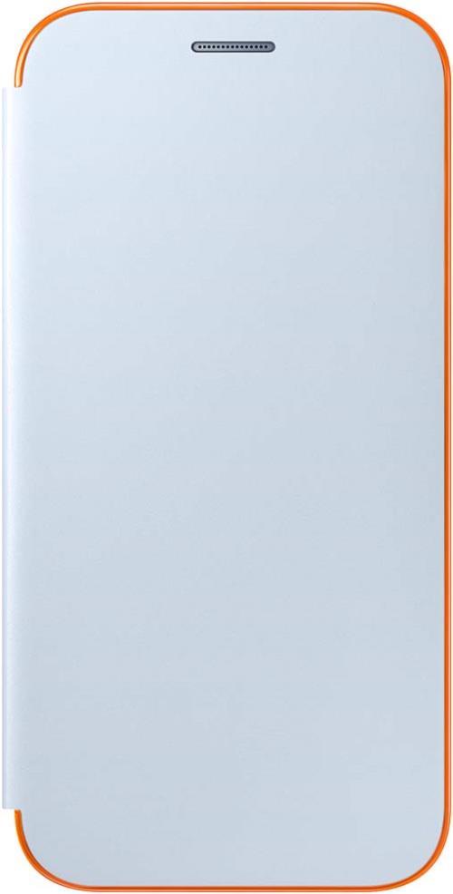 Etui Flip Cover Samsung Néon Bleu pour Galaxy A5 2017