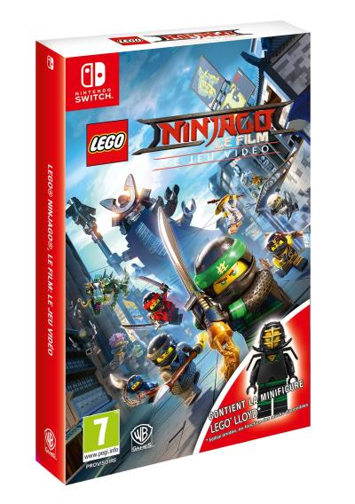 LEGO Ninjago Le film Le jeu vidéo Edition Day One Nintendo Switch