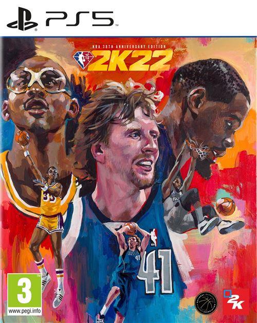 NBA 2K22 Edition 75ème Anniversaire PS5