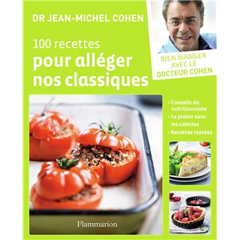 100 recettes pour alléger nos classiques - broché - Jean
