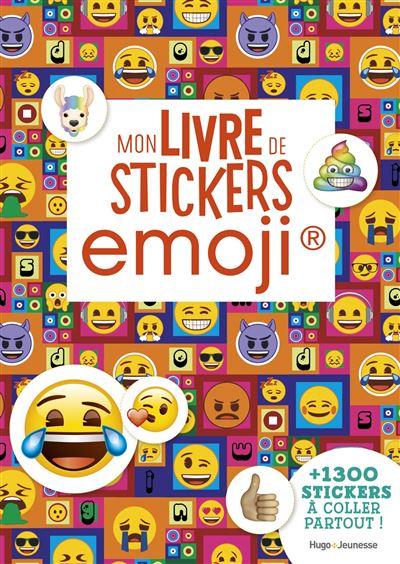 Emoji Mon Livre De Stickers