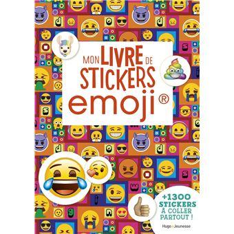 Emoji Mon Livre De Stickers Collectif Broche Livre