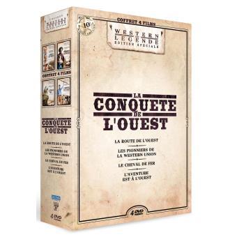 Coffret La conquête de l'Ouest 4 films DVD