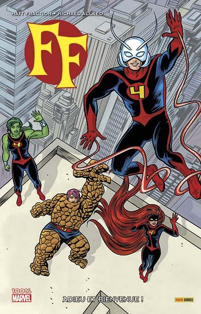 FF. - Tome 01 : Ff marvel now !