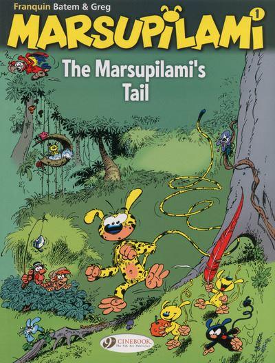 The Marsupilami - tome 1 The Marsupilami's tail