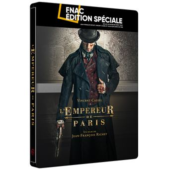 L'Empereur de Paris Steelbook Edition Limitée Fnac Blu-ray