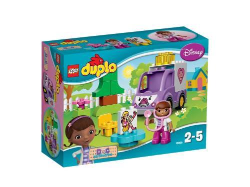 LEGO® DUPLO® 10605 Rosie L'ambulance de Docteur La Peluche