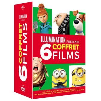 Coffret Illumination 6 Films DVD