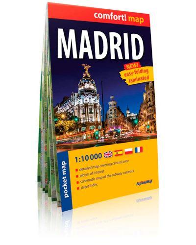 Madrid 1/10.000 (gb) (comfort !map, poche)