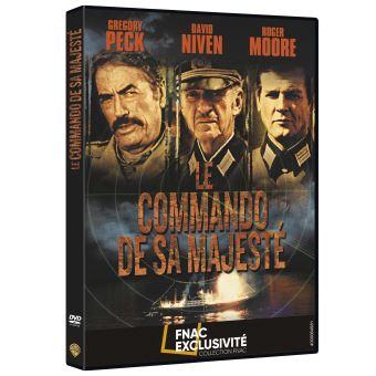 Le commando de sa majesté Exclusivité Fnac DVD