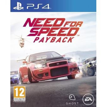 NEED FOR SPEED PAYBACK MIX PS4